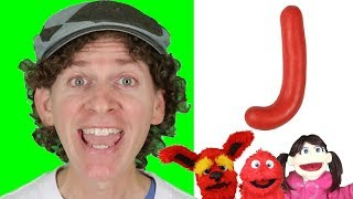 Letter J | Today's Letter Song with Matt and Friends | Preschool, Kindergarten, Learn English