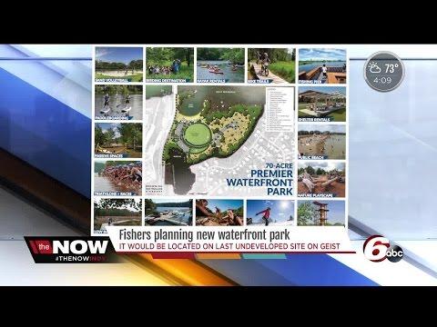 Fishers plans waterfront park at Geist Reservoir