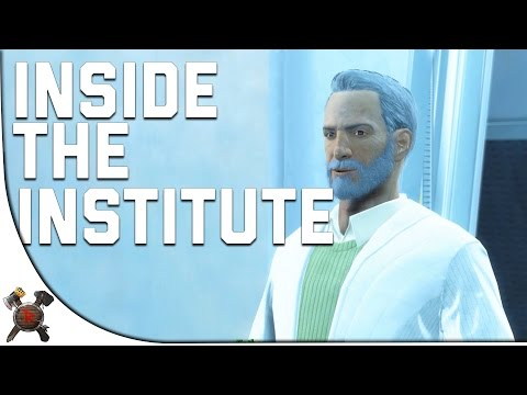 Fallout 4 Gameplay Walkthrough - Part 14: INSIDE THE INSTITUTE! (w/ Giveaway)