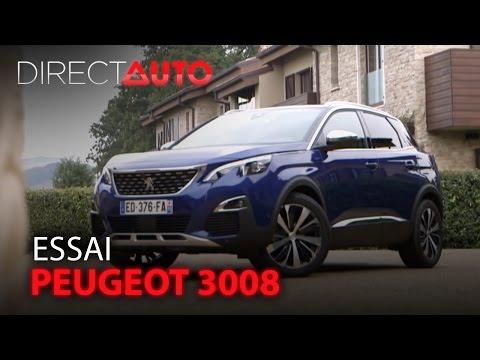 Essai -  PEUGEOT 3008