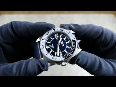 On the Wrist, from off the Cuff:  Stowa – Prodiver Blue Limited, Amazing Titanium Dive Watch