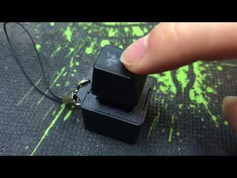 razer chroma keycap keychain