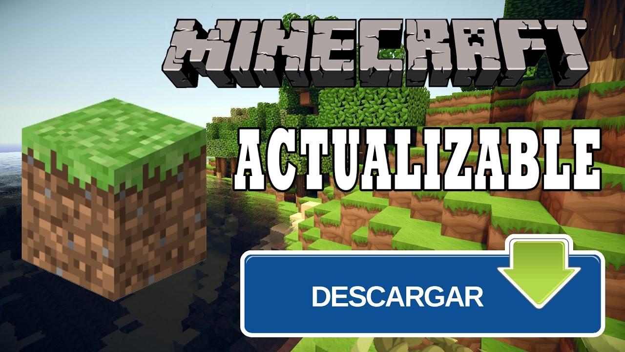 |Descargar Minecraft Gratis|Actualizable|Launcher ...