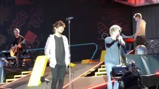 One Direction - Through The Dark + Water fight (Horsens, Denmark 16.06.2015)