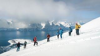 Skiing the insanely beautiful Lyngen Alps