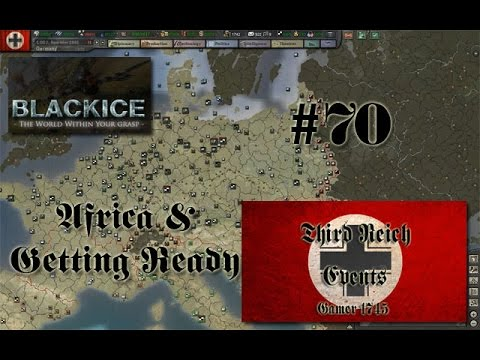 Let's Play Hearts of Iron 3: TFH w/BlackICE 7.54 & Third Reich Events Part 70 (Germany)