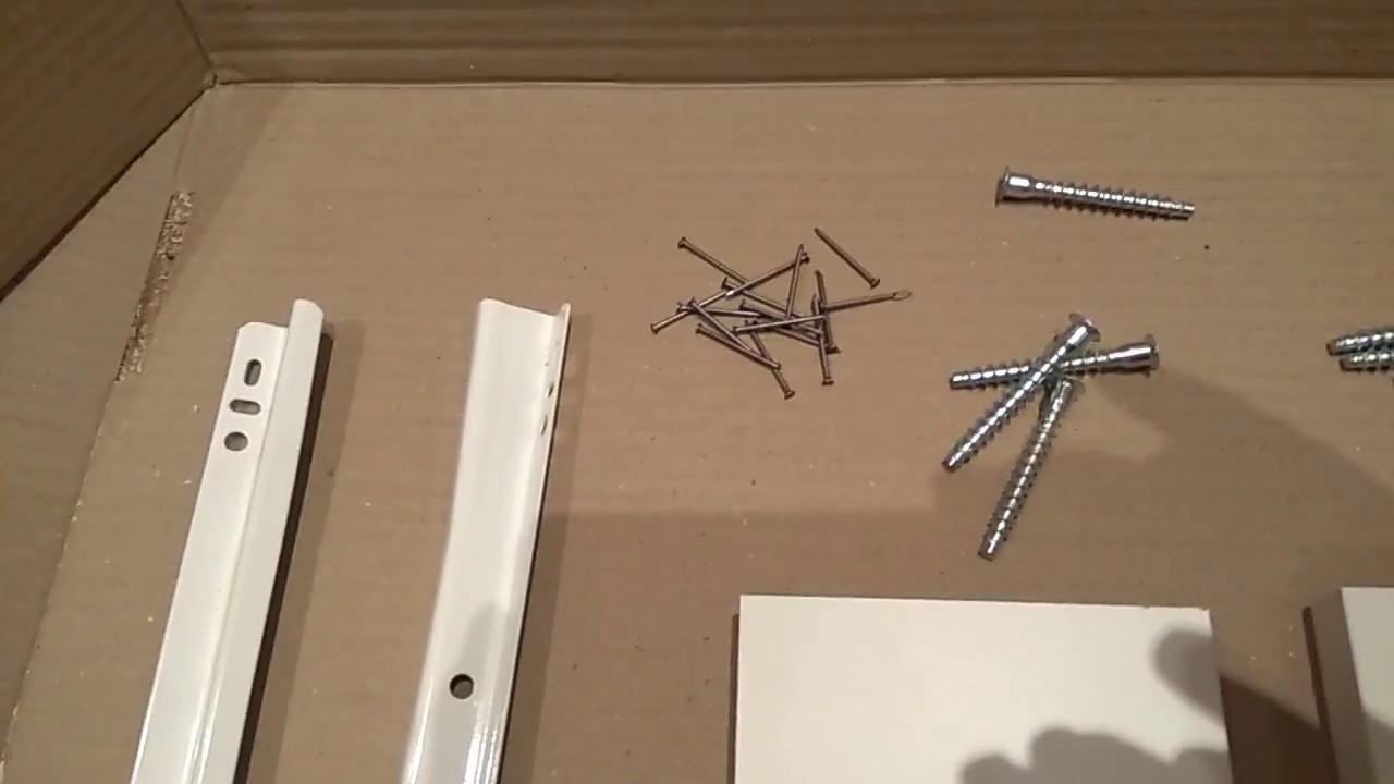 схема сборки выкатного ящика кухонного стола
