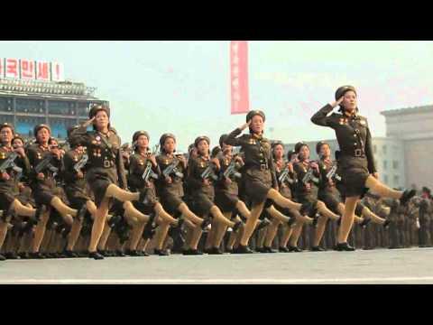 North Korea's military parade (Srow and Ronery)