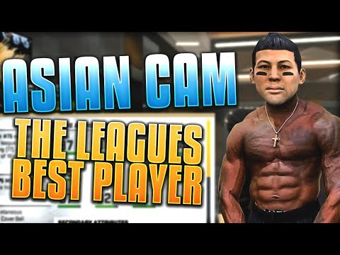 ASIAN CAM, THE LEAGUE'S BEST PLAYER! Madden 20 Face Of Franchise