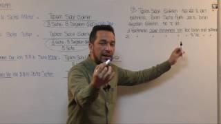 26) A Grubu - Muhasebe - Başabaş Noktaları - Fatih DALKIRAN (2017)