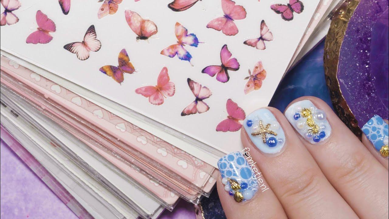 Aliexpress Nail Sticker Haul!✨- femketjeNL