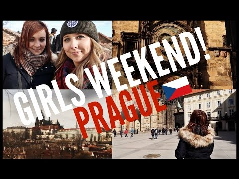 TWO SCOTTISH GIRLS VISIT PRAGUE!