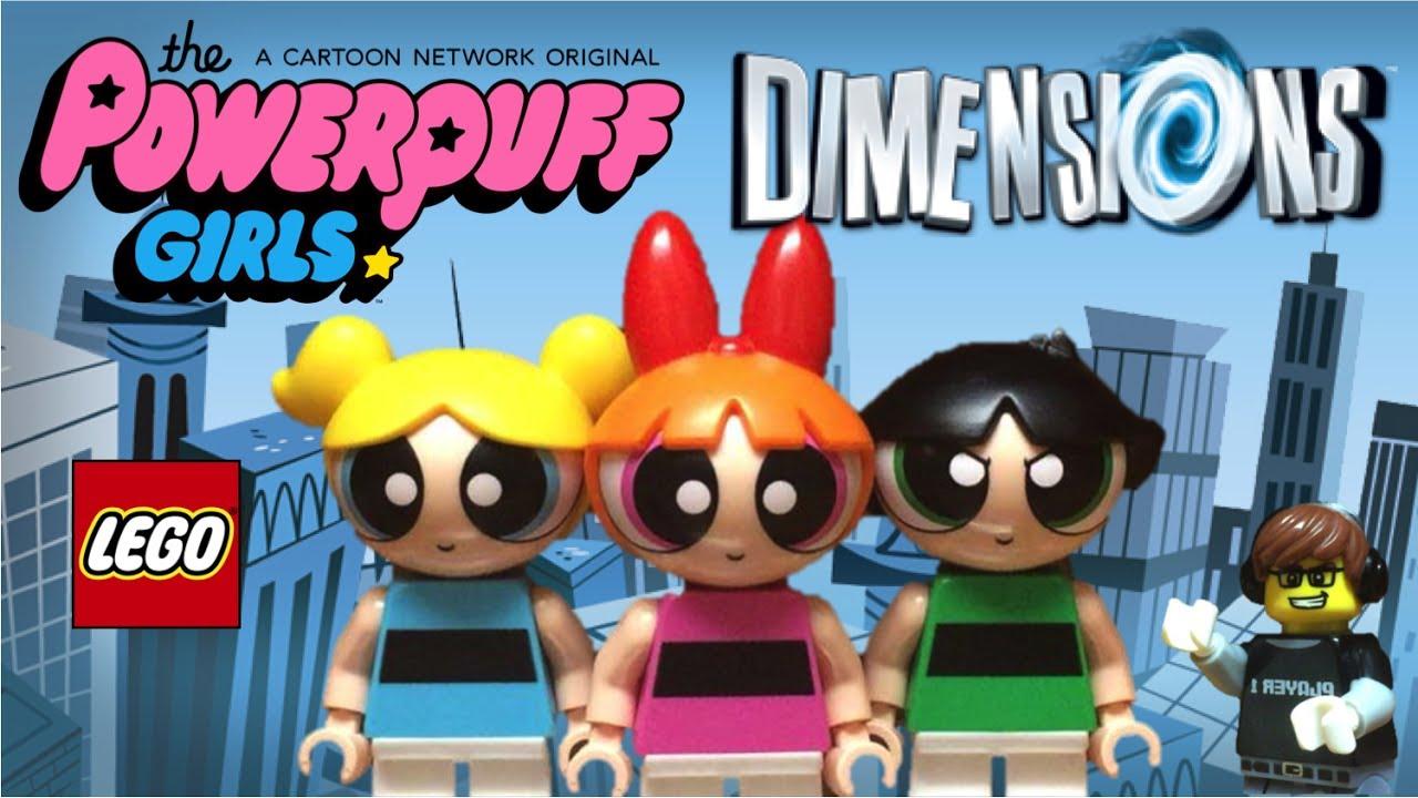 LEGO BLOSSOM BUBBLES BUTTERCUP mini figs New 3 Minifigures The PowerPuff Girls