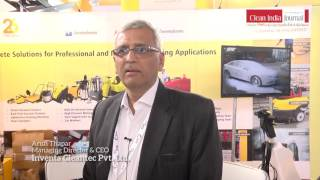 inventa cleantec pvt ltd at clean india technology week 2017