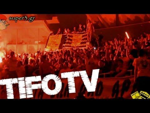SUPER 3 - ARIS VS. PAOK - Watch This Fantastic Greek TIFO Mentality