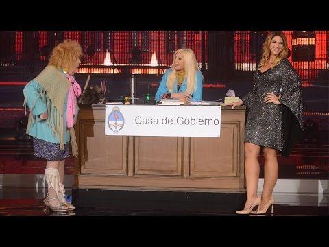 Alessandra Rampolla le dio clases de sexo a la empleada pública en el programa de Susana Giménez