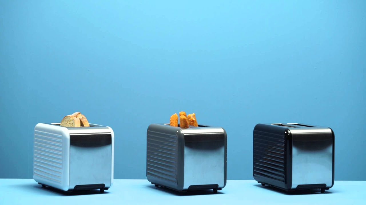 Coline 2 slice toaster - YouTube