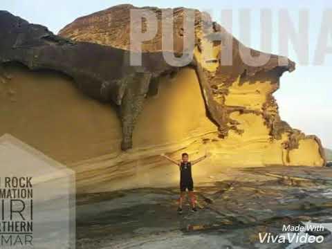 Biri Rock Formation   Northern Samar