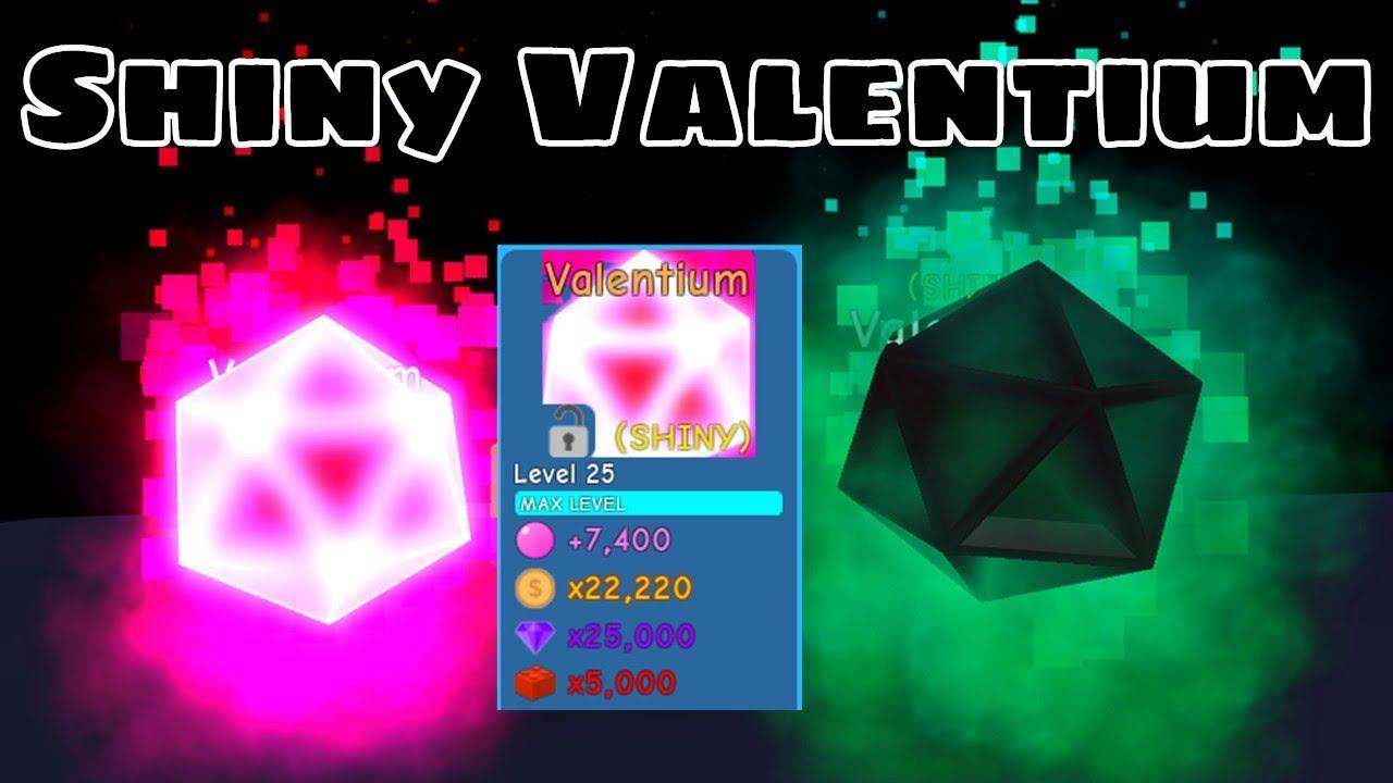 I Got Shiny Valentium! Most Powerful Rarest Pet! - Bubble Gum Simulator