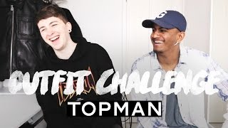 £100 Topman Outfit Challenge ft. Gallucks