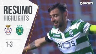 Highlights | Resumo: Feirense 1-3 Sporting (Liga 18/19 #21)