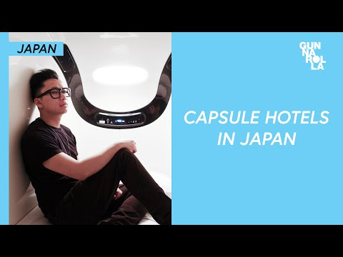 Budget Travel in Japan: Staying in a Capsule Hotel