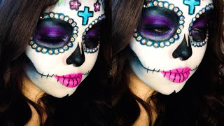 day of the dead! get your white contacts here: www.youknowit.com PR...