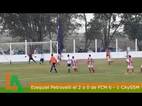 Ezequiel Petrovelli marca el 2 a 0 de Matienzo ante San Martín De Roberts