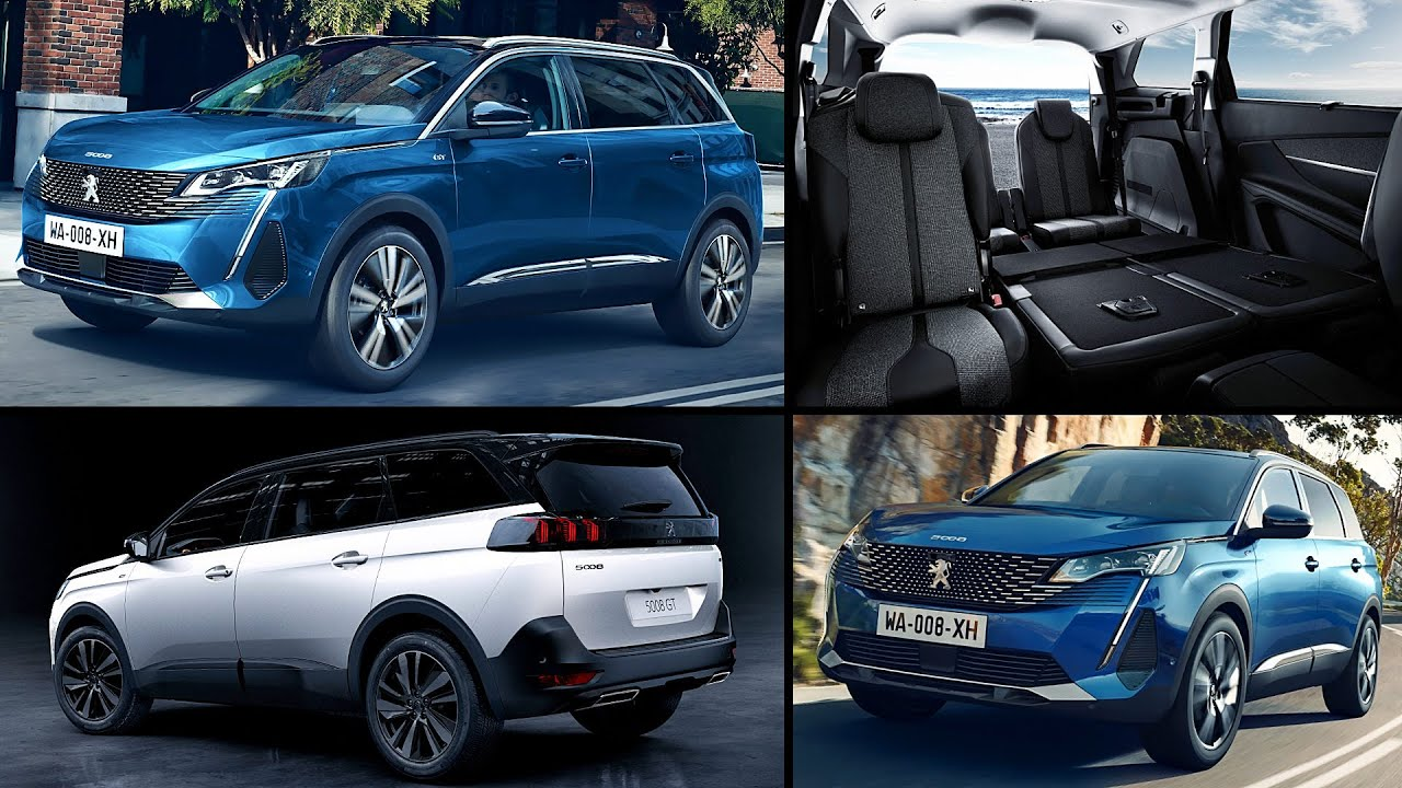 New 2021 Peugeot 5008 Gt Suv Big Review Interior Exterior Youtube