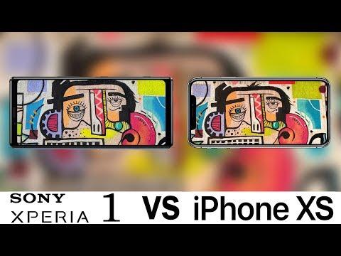 Sony Xperia 1 Vs iPhone XS Camera Test