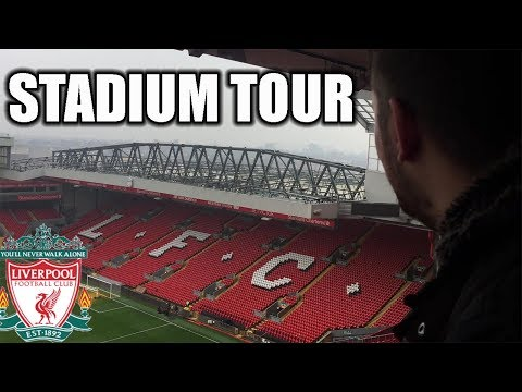 ANFIELD STADIUM TOUR! LIVERPOOL FC!