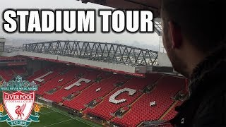 Gambar cover ANFIELD STADIUM TOUR! LIVERPOOL FC!