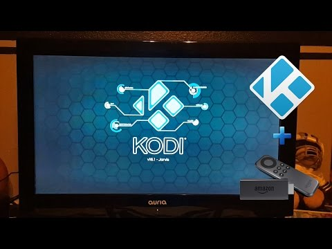 HOW TO INSTALL KODI 16.1 On Fire Stick TV Easiest Method (No PC Required) Live TV, TV Shows, Movies