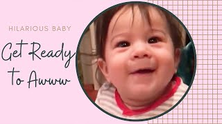 Funny Baby Playing In Action - Cute Baby Videos