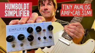 TINY ALL ANALOG AMP+CAB SIM! HUMBOLDT SIMPLIFIER