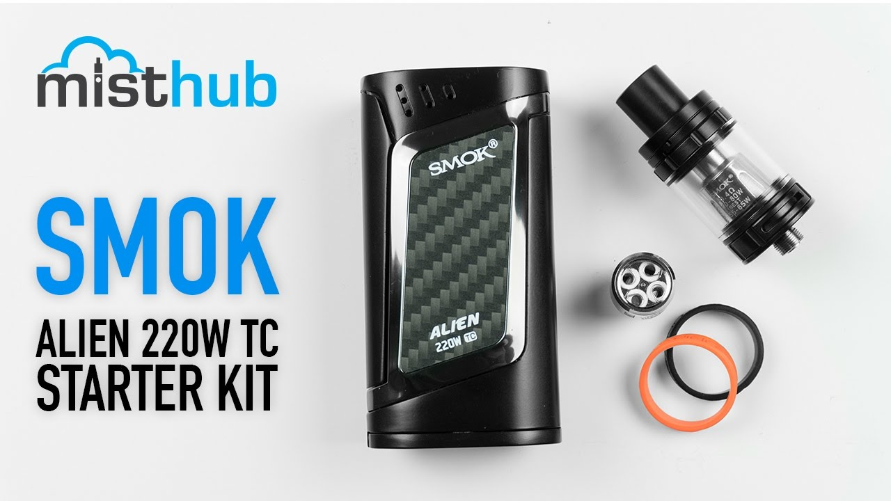 The SmokTech Alien 220W Kit [Unboxing + Quick Overview]