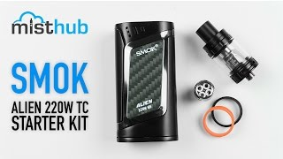 SMOKTech Alien 220W TC Kit with TFV8 Baby Tank Video
