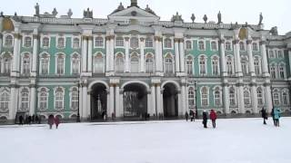 Санкт Петербург ! Эрмитаж ! Дворцовая площадь ! Прогулка на карете !
