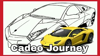 Lihat 10 Gambar Mewarnai Mobil Lamborghini Anak Paud Tk 2