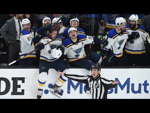 Jo Jo - St.Louis Blues Win NHL Championship!