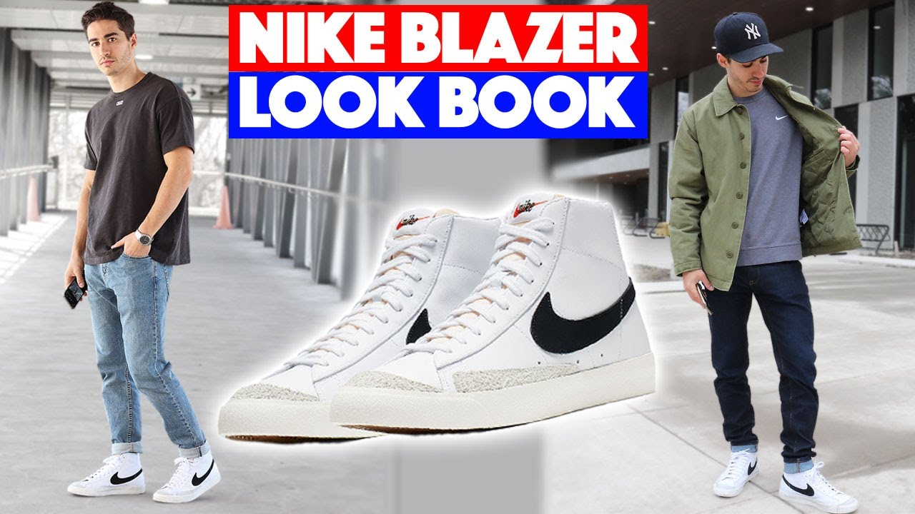 alias cometer Habitar  HOW TO STYLE: Nike Blazer Mid 77 (Outfit Ideas) - YouTube