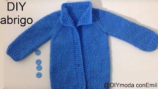 Repeat youtube video Abrigo o chaqueta para bebé recién nacido