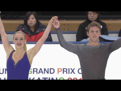 2016 ISU Junior Grand Prix - Yokohama - Free Dance - Rachel