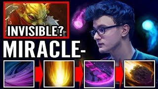 CACULATED! You Can't Run From MIRACLE INVOKER Pro Invoke Dota 2 Gameplay