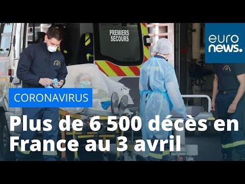 Coronavirus: au moins 6 507 décès en France depuis le début de l'épidémie de Covid-19