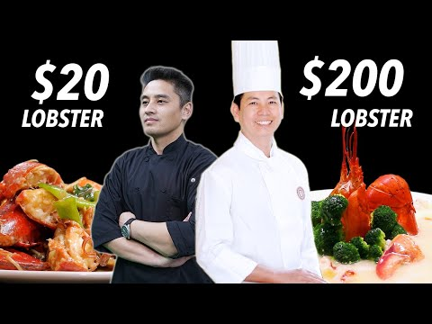 $20 Lobster Vs. $200 Lobster • Taste The Chinese Recipes Show