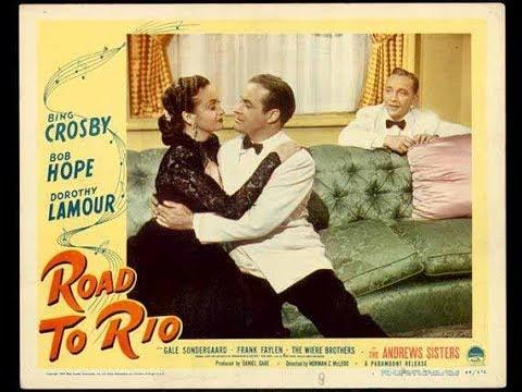 Road to Rio, Bob Hope, Bing Crosby, Dorothy Lamour, 1947 Full ...