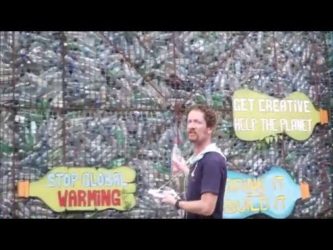 Plastic Bottle Village Bocas del Toro Panama