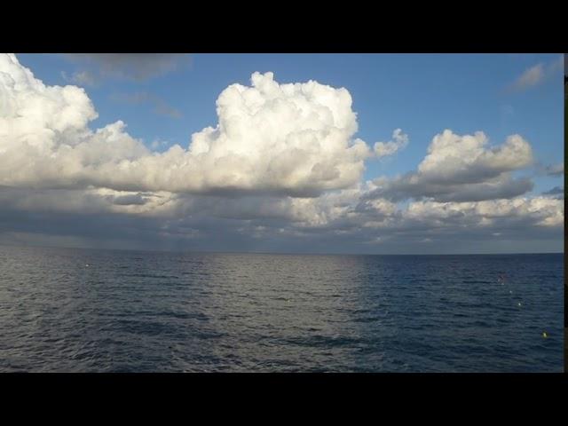 Efectes d'una massa d'aire fred en altura - Badalona - Agost 2020