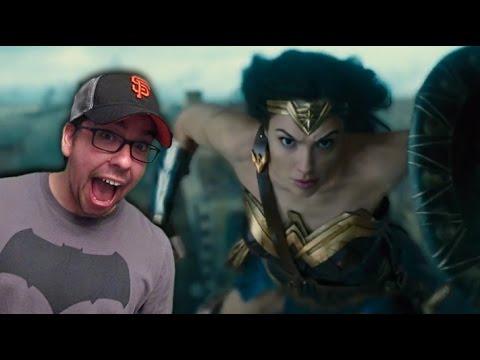 Wonder Woman TV Spot Reactions